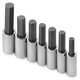 SK Hand Tool 41427 7-Piece 1/2 in. Drive Metric Hex Bit Socket Set