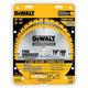 Dewalt DW3106P5 2 Pc 10 in. Series 20 Circular Saw Blade Combo Pack