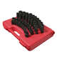 Sunex 2669 39-Piece 1/2 in. Drive Metric Master Impact Socket Set
