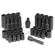 Grey Pneumatic 1242RD 42-Piece 3/8 in. Drive 6-Point SAE/Metric Impact Socket Set