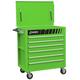 Sunex 8057G Premium Green Full Drawer Service Cart