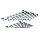 SK Hand Tool 86014 16-Piece 6 and 12-Point Combination SAE Wrench Set