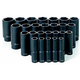 Grey Pneumatic 1326MD 26-Piece 1/2 in. Drive 6-Point Metric Deep Impact Socket Set