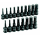 Grey Pneumatic 1598HC 18-Piece 1/2 in. Drive SAE/Metric Standard Hex Driver Set