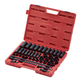 Sunex 2569 43-Piece 1/2 in. Drive Metric Master Impact Socket Set