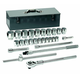 GearWrench 80880 27-Piece 3/4 in. Drive 12-Point SAE Socket Set