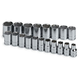 SK Hand Tool 1959 19-Piece 1/2 in. Drive 6 Point Standard Metric Socket Set