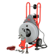 Ridgid 42007 3/4 in. x 100 ft. Autofeed Wheeled Drum Machine