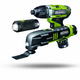 Rockwell RK1003K2 LithiumTech 12V Cordless Lithium-Ion 3-Tool Combo Kit