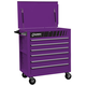 Sunex 8057P Premium Purple Full Drawer Service Cart