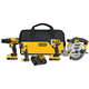 Factory Reconditioned Dewalt DCK421D2R 20V MAX Cordless Lithium-Ion 4-Tool Combo Kit