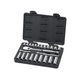 GearWrench 80559 24-Piece 3/8 in. Drive Metric Standard/Deep Socket and Wrench Set