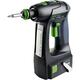 Festool 564557 15V 5.2 Ah Cordless Lithium-Ion Pistol Grip Drill Driver PLUS