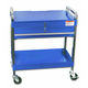 Sunex 8013ABL Service Cart with Locking Top and Drawer (Blue)