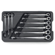 GearWrench 85398 9-Piece SAE X-Beam Reversible Combination Ratcheting Wrench Set
