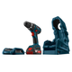 Bosch WC18CHF-102DDS 18V Cordless Lithium-Ion Compact Tough 1/2 in. Drill Driver with Wireless Charging Kit