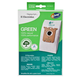 Electrolux E212B S-Bag Green Vacuum Bag 3-Pack