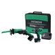 Hitachi KC10DBLPL HXP 10.8V Cordless Lithium-Ion 1/4 in. Micro Drill Driver & Recip Saw Kit