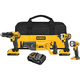 Factory Reconditioned Dewalt DCK420D2R 20V MAX Cordless Lithium-Ion 4-Tool Combo Kit