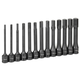Grey Pneumatic 1363MH 13-Piece 1/2 in. Drive Metric 6 in. Extended Length Impact Drive Socket Set