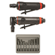 Astro Pneumatic 219 ONYX 2-Piece Die Grinder Kit with Rotary Burr Set