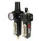 Campbell Hausfeld PA211400AV 1/2 in. NPT Combo Filter/Regulator/Lubricator