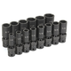 Grey Pneumatic 1314UD 14-Piece 1/2 in. Drive 6-Point SAE Universal Deep Impact Socket Set