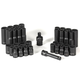 Grey Pneumatic 1642RD 42-Piece 3/8 in. Drive 12-Point SAE/Metric Standard and Deep Impact Socket Master Set