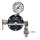 DeVilbiss HAR600 HAR-600 60 CFM Regulator Gauge and Valve