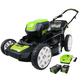 Greenworks 2500402 80V Cordless Lithium-Ion 21 in. 3-in-1 Lawn Mower Kit
