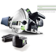 Festool 561702 18V 5.2 Ah Cordless Lithium-Ion Plunge Cut Track Saw Set with 55 in. Track