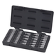 GearWrench 890040 39-Piece 1/4 in. and 3/8 in. Drive SAE/Metric Vortex Bit Socket Set