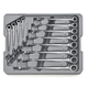 GearWrench 85888 12-Piece XL X-Beam Metric Combination Ratcheting Wrench Set