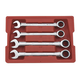 GearWrench 9309 4-Piece SAE Jumbo Combination Ratcheting Wrench Set
