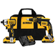 Dewalt DCK261D2 20V Max XR Cordless Lithium-Ion Brushless 2 Ah Screwgun and Impact Combo Kit