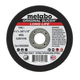 Metabo 655332000-100 4-1/2 in. x 1/16 in. A36TZ Type 1 SLICER Cutting Wheels (100-Pack)