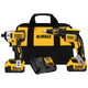 Dewalt DCK262M2 20V Max XR Cordless Lithium-Ion Brushless 4 Ah Screwgun and Impact Combo Kit