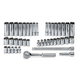 SK Hand Tool 91844-12 41-Piece 12-Point 1/4 in. Drive SAE/Metric Socket Set