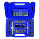 Irwin Hanson 26377 117-Piece Machine Screw/SAE/Metric Tap, Die, Extractor and Drill Bit Deluxe Set