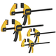 Dewalt DWHT83196 Medium and Large Trigger Clamps 4-Pack