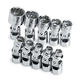 SK Hand Tool 4935 10-Piece 1/4 in. Drive 12 Point Flex SAE Socket Set