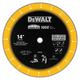 Dewalt DW8500 14 in. Diamond Edge Chop Saw Blade