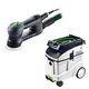 Festool P48571823 Rotex 3-1/2 in. Multi-Mode Sander with CT 48 E 12.7 Gallon HEPA Dust Extractor
