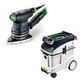 Festool P48567871 Delta Orbital Finish Sander with CT 48 E 12.7 Gallon HEPA Dust Extractor