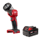 Milwaukee 49-24-2735 M18 XC 18V 4.0 Ah Slide Lithium-Ion Battery Pack with M18 LED Work Light