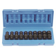Grey Pneumatic 1210UMSD 10-Piece 3/8 in. Drive Semi-Deep Metric Universal Socket Set