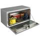 JOBOX 764980 24 in. Long Heavy-Gauge Aluminum Underbed Truck Box (ClearCoat)