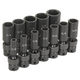 Grey Pneumatic 1212UD 12-Piece 3/8 in. Drive 6-Point SAE Universal Deep Impact Socket Set