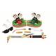 Firepower 0384-2682 350 Heavy-Duty Oxygen/Acetylene Welding Outfit