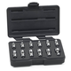 GearWrench 80311 12-Piece 1/4 in. Drive 6-Point Metric Flex Socket Set